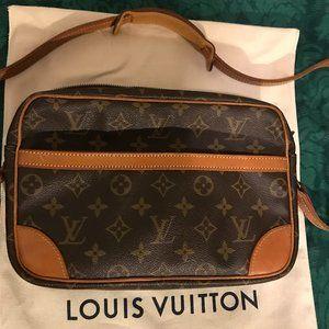 LOUIS VUITTON TROCADERO 27 CROSS BODY SHOULDER BAG